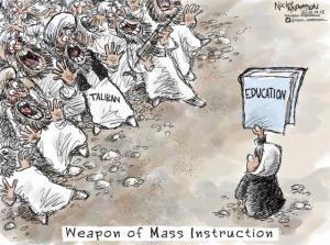 utbildning mot talibaner