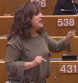 Den spanska EU-parlamentarikern Iratxe García